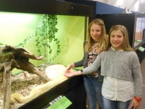 Schlangenausstellung in Bozen mit der Klasse 1F